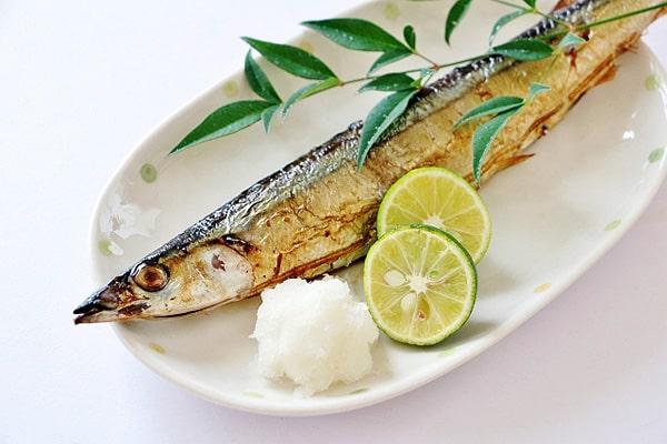 秋刀魚焼き